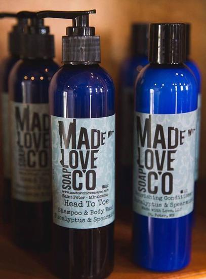 shampoo conditioner body wash
